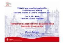 XXXVI Congresso Nazionale SIFO – 22-25 ottobre CATANIA